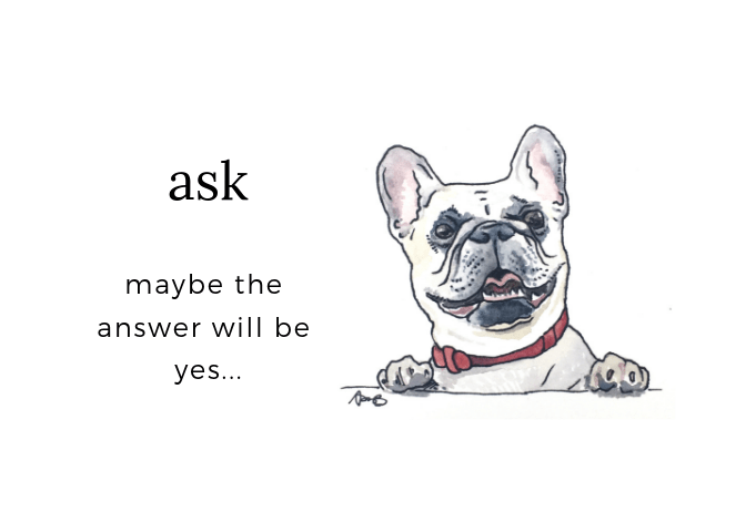 ask for the toy