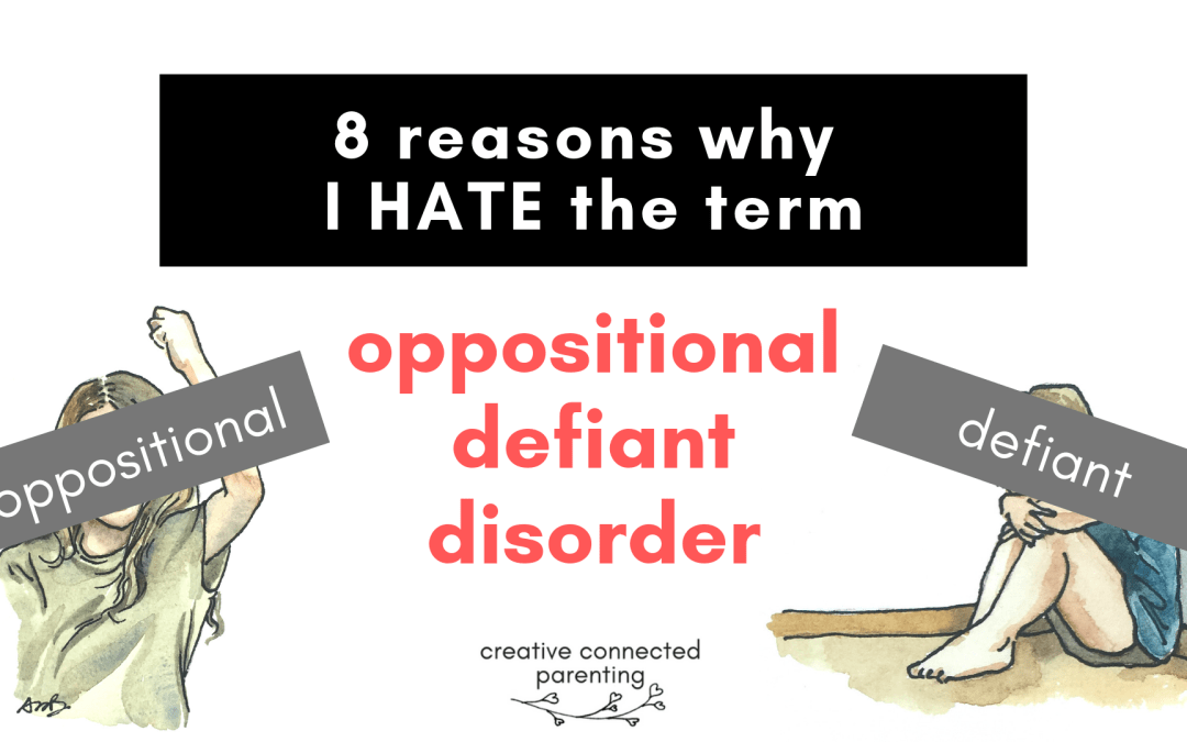 "8 Reasons We Need A New Word For""Oppositional Defiant Disorder"""