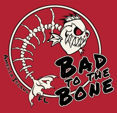 Amelia Island Bad to the Bone Graphic