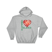 Amelia I Love You Hoodie Sport-Grey