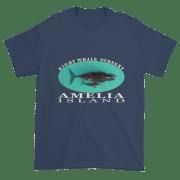 Amelia Island Nursery Ultra Cotton T-Shirt Blue-Dusk