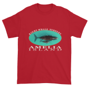 Amelia Island Nursery Ultra Cotton T-Shirt Cherry-Red