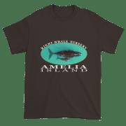Amelia Island Nursery Ultra Cotton T-Shirt Dark-Chocolate