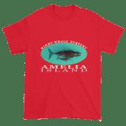 Amelia Island Nursery Ultra Cotton T-Shirt Red