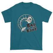 Bad to the Bone Ultra Cotton T-Shirt Galapagos-Blue