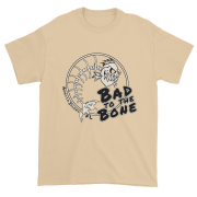 Bad to the Bone Ultra Cotton T-Shirt Tan