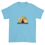 Full Moon Lotus Ultra Cotton T-Shirt Sky