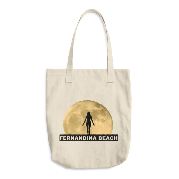 Full Moon Yoga Beige Tote