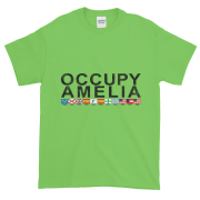 Occupy Amelia Ultra Cotton T-Shirt Lime