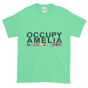Occupy Amelia Ultra Cotton T-Shirt Mint-Green