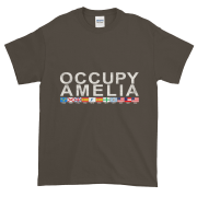Occupy Amelia Ultra Cotton T-Shirt Olive