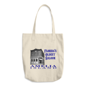 Oldest Saloon Denim Tote Beige Tote