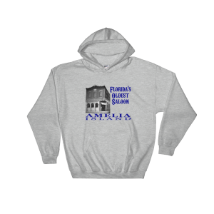 Oldest Saloon Hoodie Sport-Grey