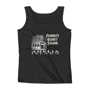 Oldest Saloon Missy Fit Tank-Top Black