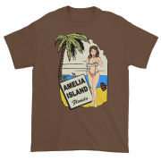 Oops My Bathing Suit Ultra Cotton T-Shirt Chestnut