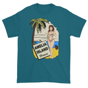 Oops My Bathing Suit Ultra Cotton T-Shirt Galapagos-Blue