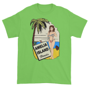 Oops My Bathing Suit Ultra Cotton T-Shirt Lime