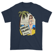 Oops My Bathing Suit Ultra Cotton T-Shirt Navy