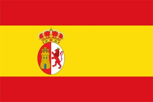 Spanish War Ensign Flag 1785-1931