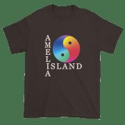 Yin & Yang Ultra Cotton T-Shirt Dark-Chocolate