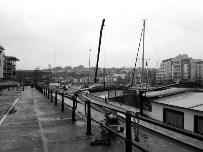 Bristol Harbourside - Masts
