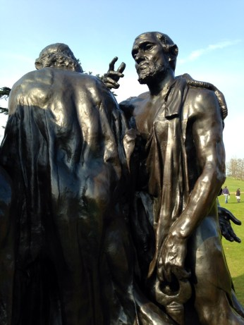 Rodin - Burghers of Calais; figure