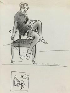 British Museum, Ohne Titel, Gerhard Richter - 1967