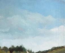 Camille Pissarro - Close up of sky