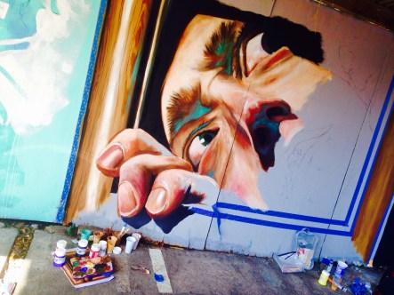 Bristol Upfest 2015 - Face and Paint