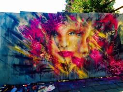 Bristol Upfest 2015 - Multicoloured Face