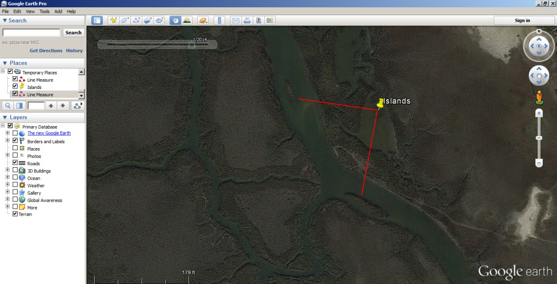 How to Use Google Earth to find Inshore Structure 1