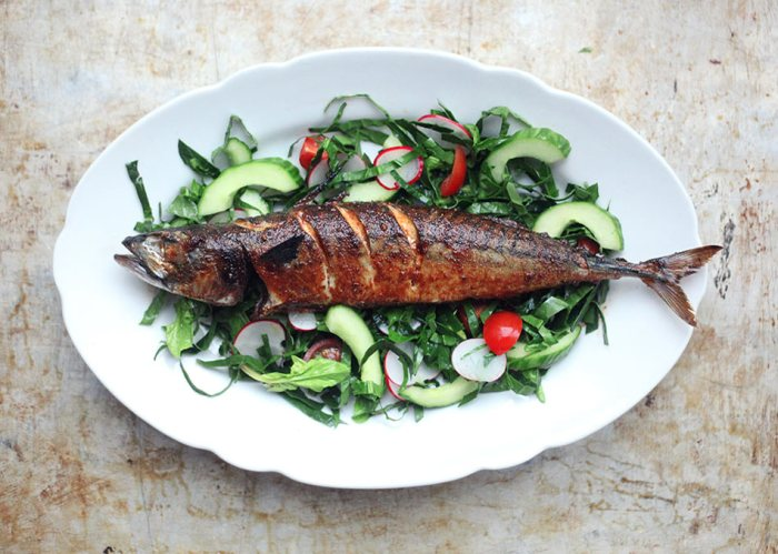 Spiced Mackerel