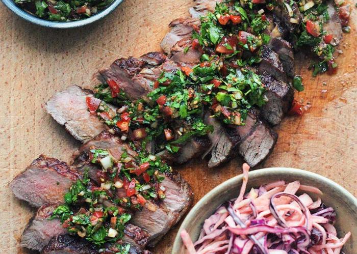 Sharing Steak with Smoky Slaw - Amelia Freer