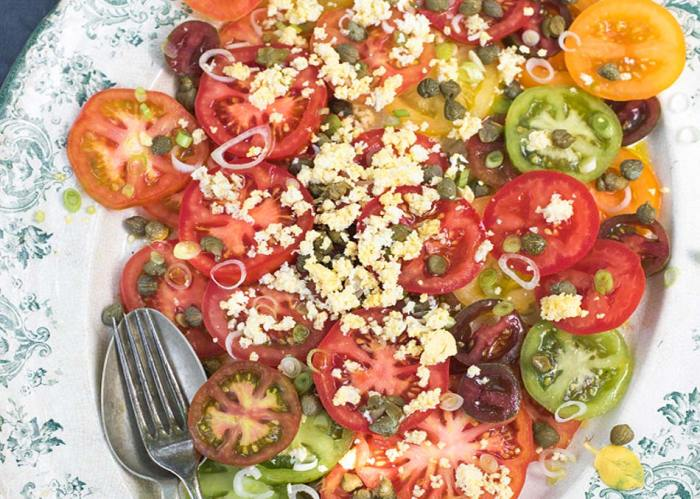 Heritage Tomato Salad by Amelia Freer