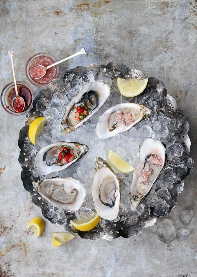 Oysters 3-Ways