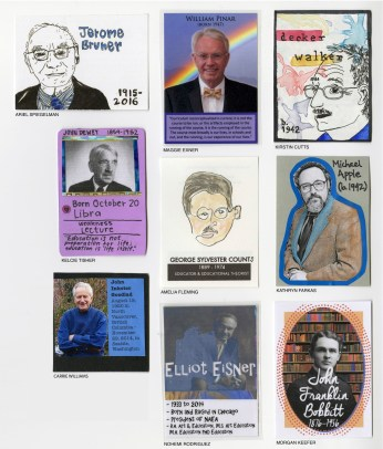 Front of Theorist Trading Cards