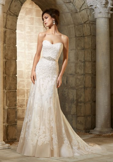 MORI LEE 5361 / SIZE 14 / WAS £1197 / NOW £415