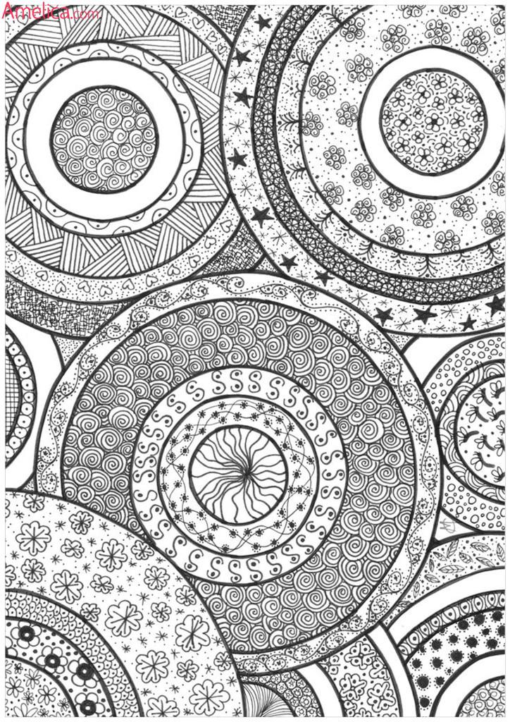 релакс раскраска цветочная арт терапия раскраски