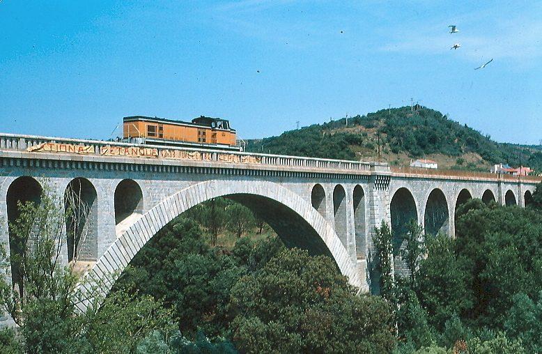 voie ferrée céret 1986