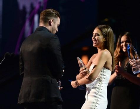 Justin+Timberlake+People+Choice+Awards