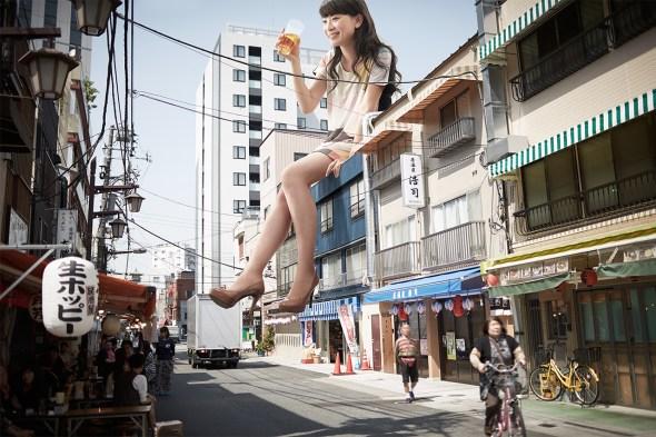 Tokyo giganticgirls beer