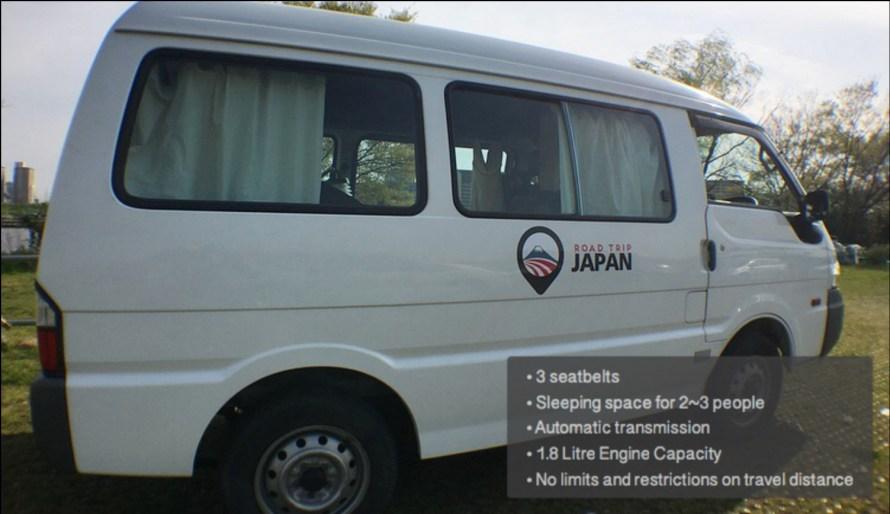 Road Trip Japan - Van