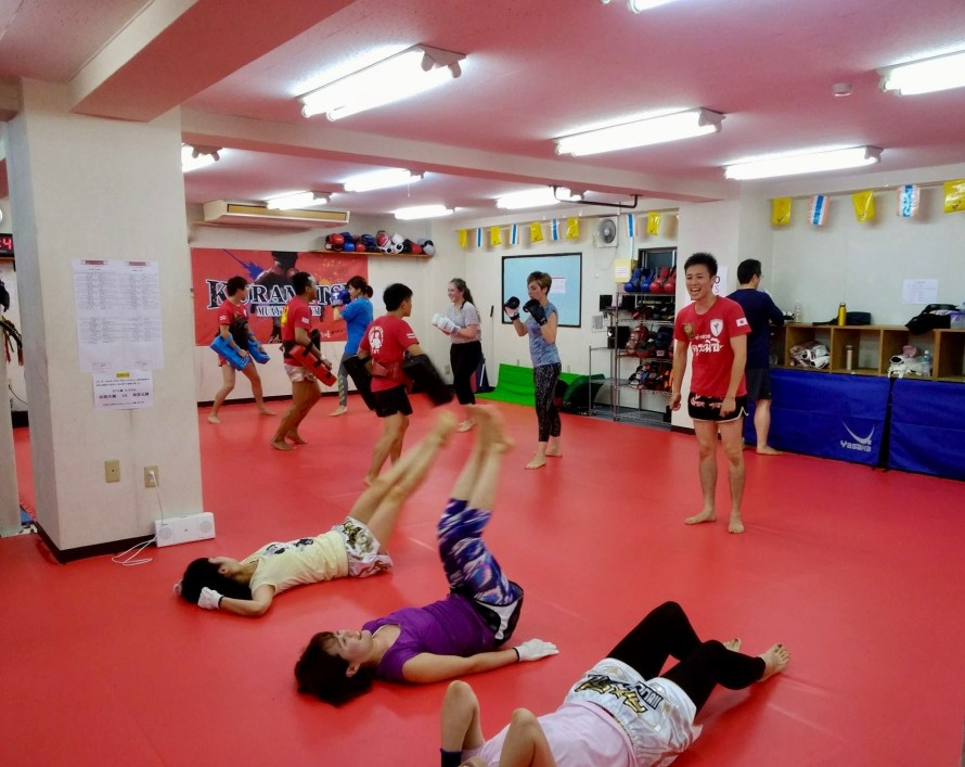 kagurazaka girls kickboxing club
