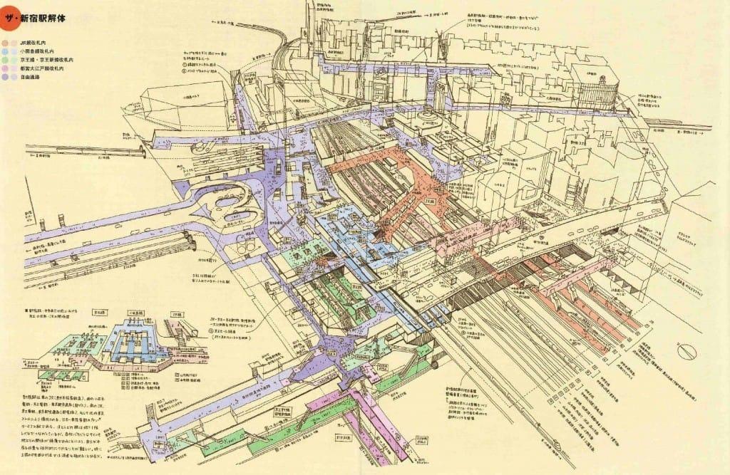 Le guide pour ne plus jamais se perdre dans la gare de Shinjuku