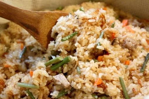 takikomi gohan - mélange de légumes
