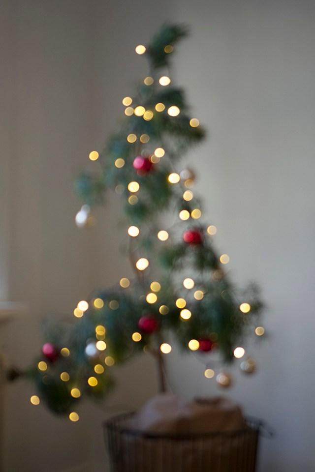 Jul, julen, julfint hemma, julpynt, juldekoration, nordisk jul, julgran, alternativ julgran, modern julgran