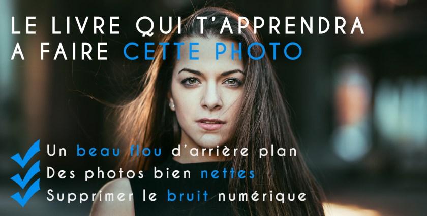 Popup Livre flou arriere plan bokeh photos nettes supprimer bruit numérique