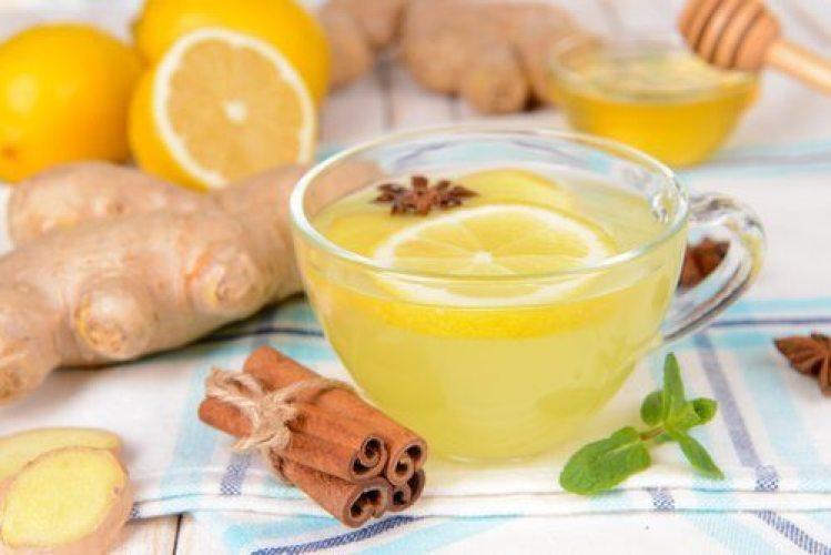 infusion de citron, gingembre et cannelle pour renforcer vos défenses immunitaires