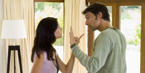 Couple qui se dispute