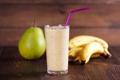 Juste poire-banane
